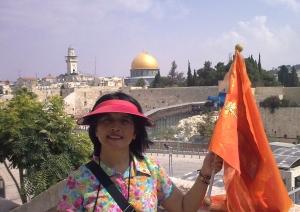 Latar belakang kota Yerusalem